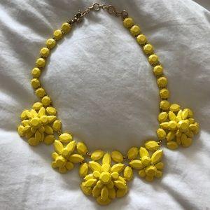 J. Crew Yellow Necklace